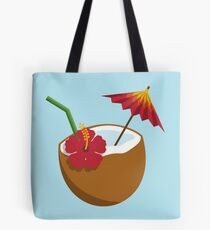 Coconut Cocktail Tote Bag