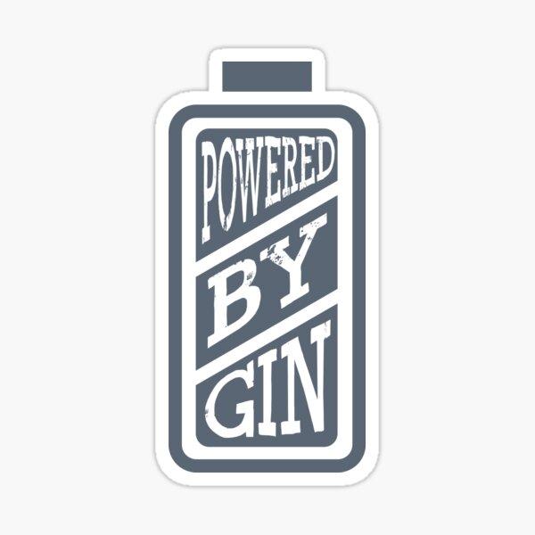 Funny design for gin fans Sticker