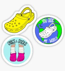 Crocs Sticker Pack Sticker