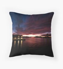 Sunset on Walsh Bay Throw Pillow