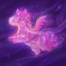 Sparkling Stars - Pegasus Constellation by Alyssa May