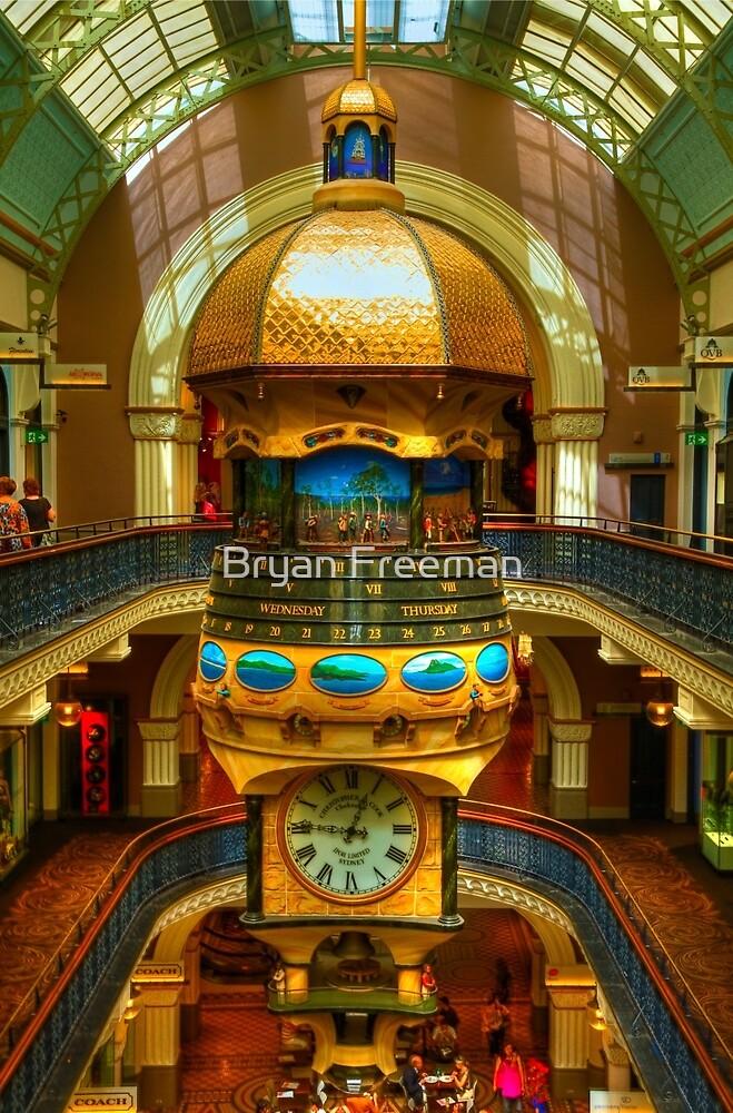 Queen Victoria Building - Sydney - Australia by Bryan Freeman