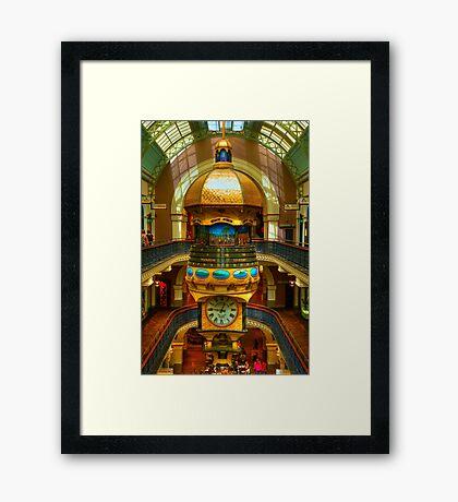 Queen Victoria Building - Sydney - Australia Framed Print