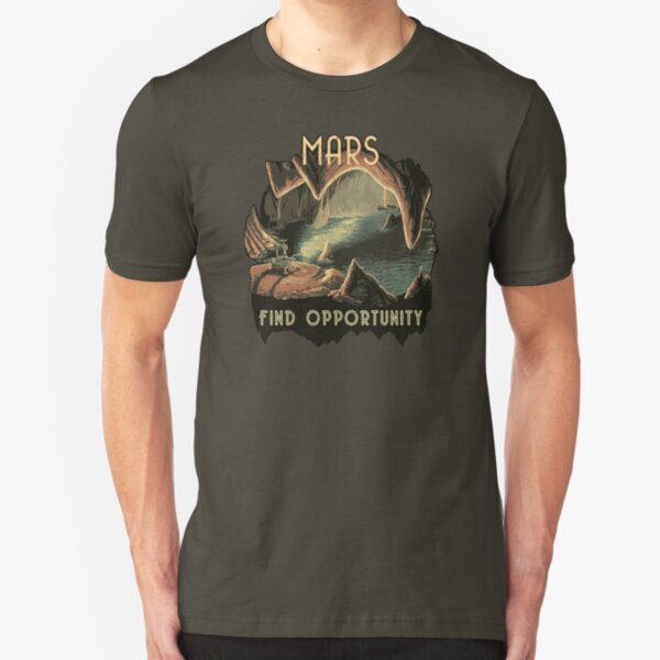Mars: Find Opportunity Slim Fit T-Shirt