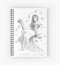 """Official illustration from """"Future Queen"""", Sorcha the Fairy Queen Spiral Notebook"""