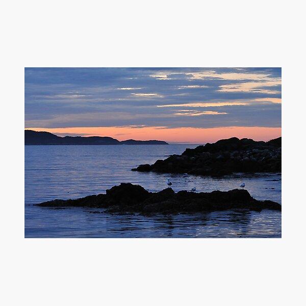 Sunrise at Witless Bay Photographic Print
