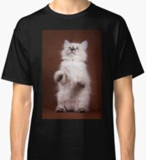 fluffy Siberian cat Classic T-Shirt