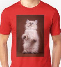 fluffy Siberian cat Unisex T-Shirt