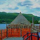 Loch Tay Crannog by Tom Gomez