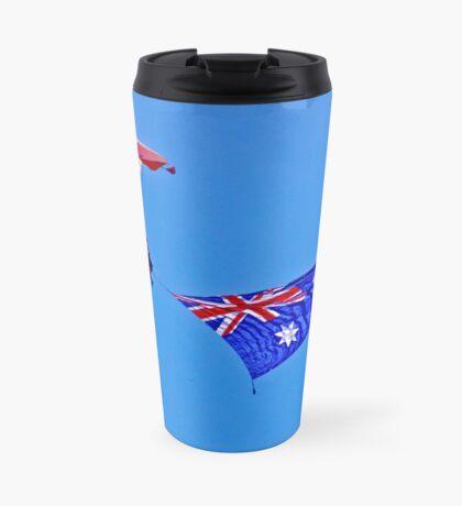 Flag Under Canopy - SYDNEY - AUSTRALIA Travel Mug