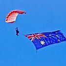 Flag Under Canopy - SYDNEY - AUSTRALIA by Bryan Freeman