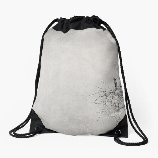 All Alone Again Drawstring Bag