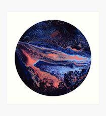 Sunset Nebula Art Print