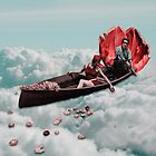 It is urgent a boat in the sea by Rosa Picnic