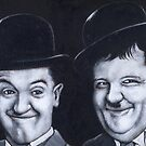 STAN AND OLLIE by DavidAEvans