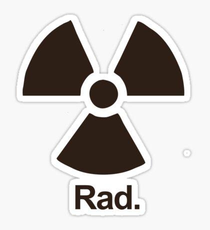 Rad. Sticker