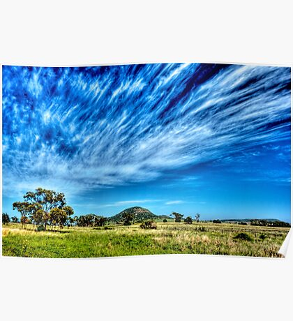 Arboreal Exhalation - Western NSW - Australia Poster