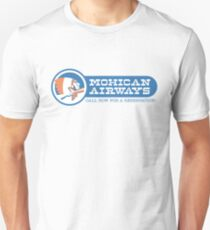 F is for Family - Mohican Airways - Call for a Reservation! Unisex T-Shirt
