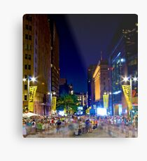 Martin Place - Sydney Festival First Night - Australia Metal Print