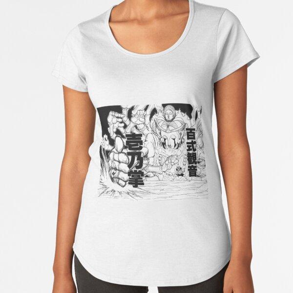 NETERO MERUEM Camiseta premium de cuello ancho