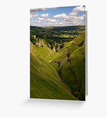 Cave Dale Greeting Card