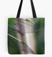 Variegated Meadowhawk, Immature Female, Wing Tips Tote Bag