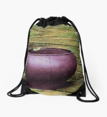 Pot Full of Quiet Drawstring Bag