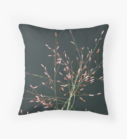 Whisps of Pink Throw Pillow