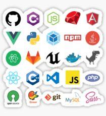 Pegatina Etiqueta engomada del desarrollador Bunde - 25 Sticker