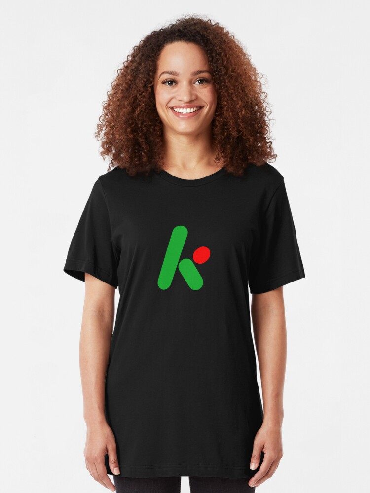 Alternate view of 2D version of The Krypton Factor logo Slim Fit T-Shirt