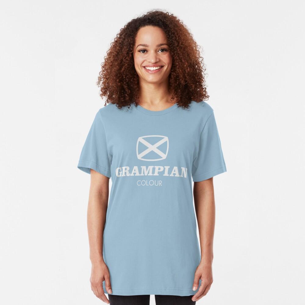 Grampian retro TV logo  Slim Fit T-Shirt