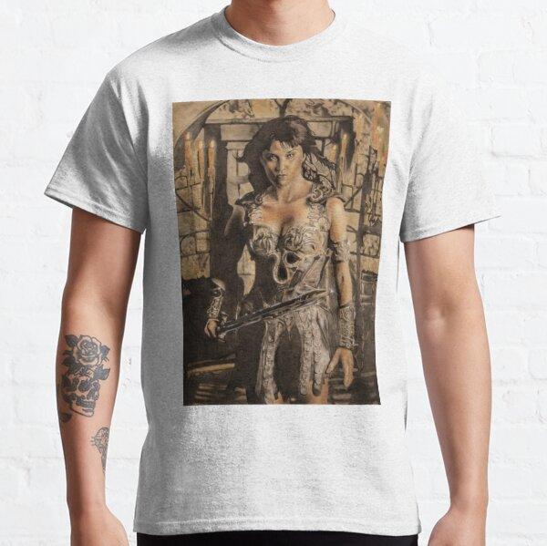 Xena - Airbrush portrait Classic T-Shirt