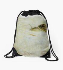 Escargot Drawstring Bag