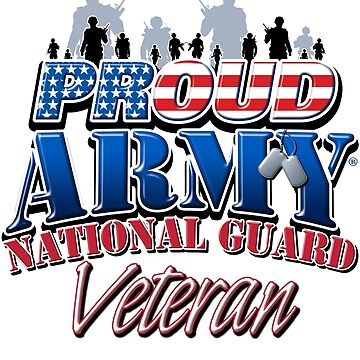 Proud Army National Guard Veteran by magiktees