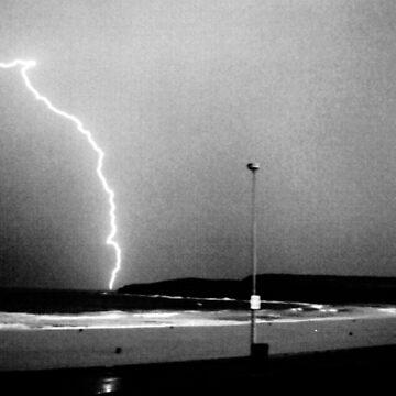 Beached Lightning - Sydney - NSW - Australia by BryanFreeman