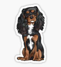 Cavalier King Charles Spaniel - Black and Tan Sticker