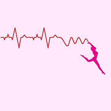 Inspiring ECG Gymnastic Ribbon by eldram