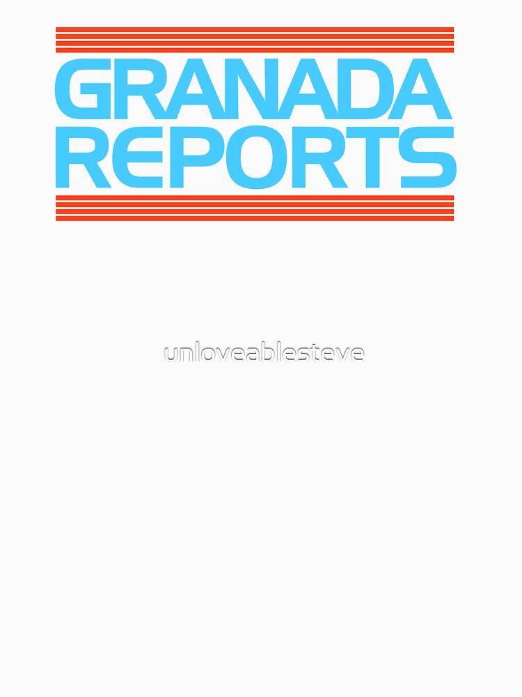 Granada Reports logo 1985-ish by unloveablesteve