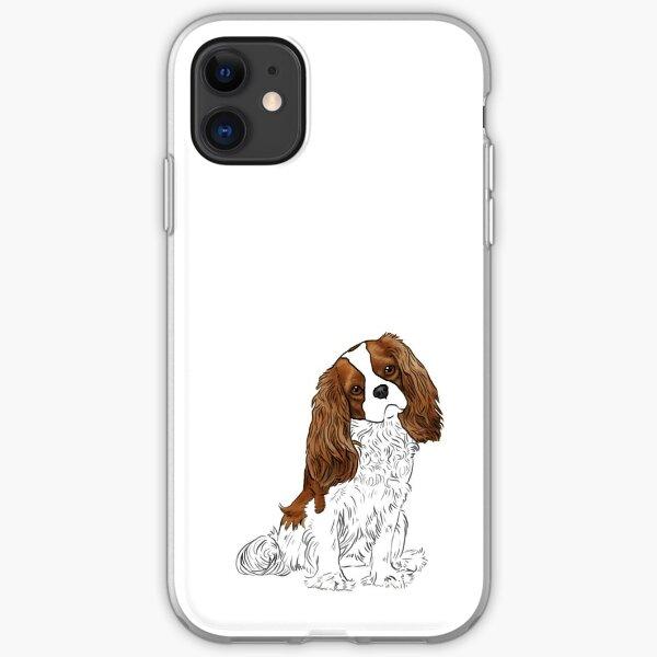 Cavalier King Charles Spaniel - Blenheim iPhone Soft Case