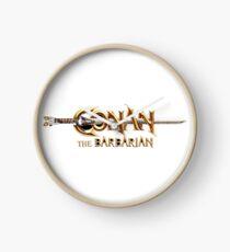 Conan The Barbarian Clock