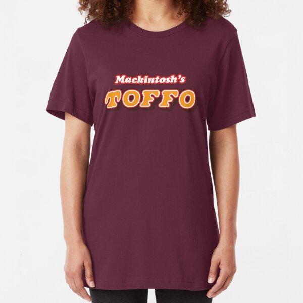 Retro Mackintosh's Toffo toffee chews  Slim Fit T-Shirt