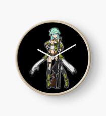 Asada Shino - Sword Art Online Clock