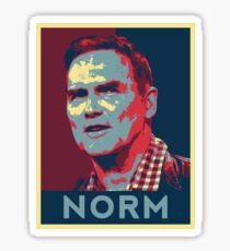 Norm Macdonald - NORM (Patriot) Sticker