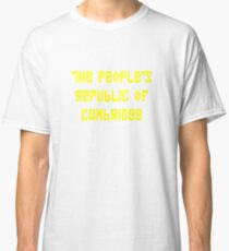 The People's Republic of Cambridge (yellow letters) Classic T-Shirt