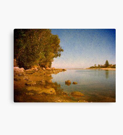 Lake Cathie Canvas Print
