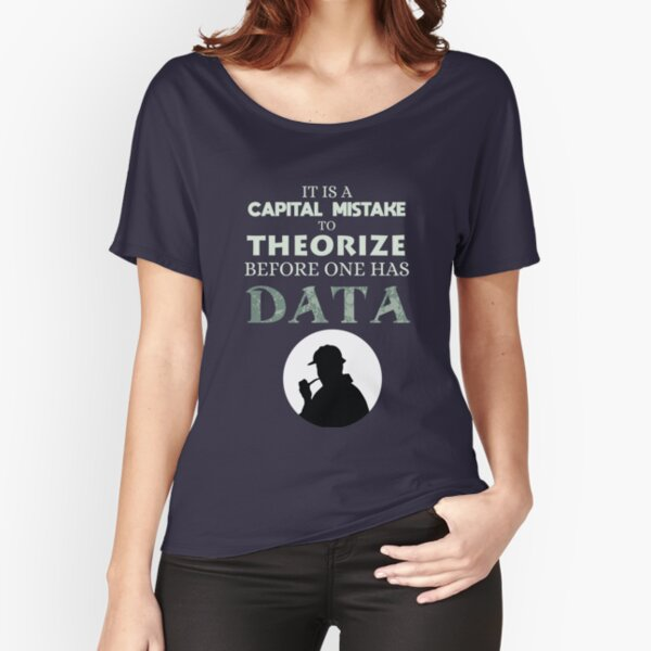 On theorizing before data Relaxed Fit T-Shirt