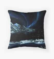 Northern Lights  Floor Pillow