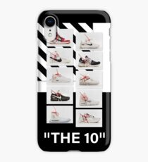 """""""The 10:"""" Off-White - T-Shirts and Stuff iPhone XR Case"""