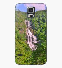 Upper Whitewater Falls North Carolina Summertime Vertical Case/Skin for Samsung Galaxy