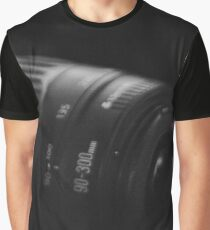 Camera lense in darkness Graphic T-Shirt